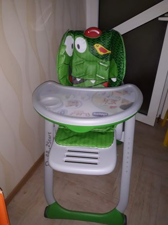 Scaun masa Chicco Polly2 Start +cadou port bebe